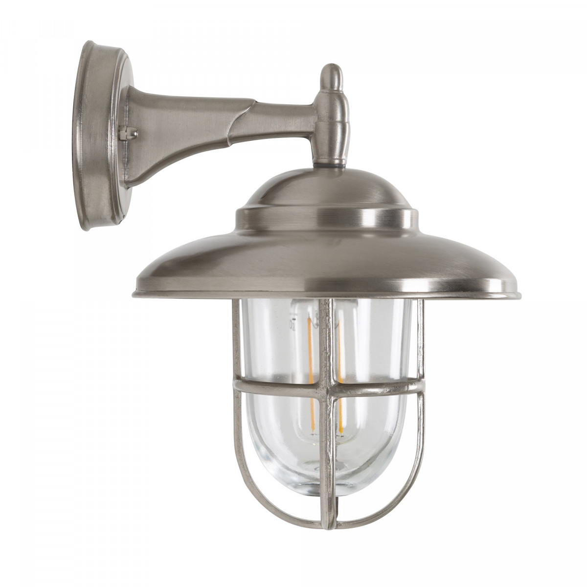 Monte (7707) - KS Verlichting - Buitenverlichting wandlamp nikkel