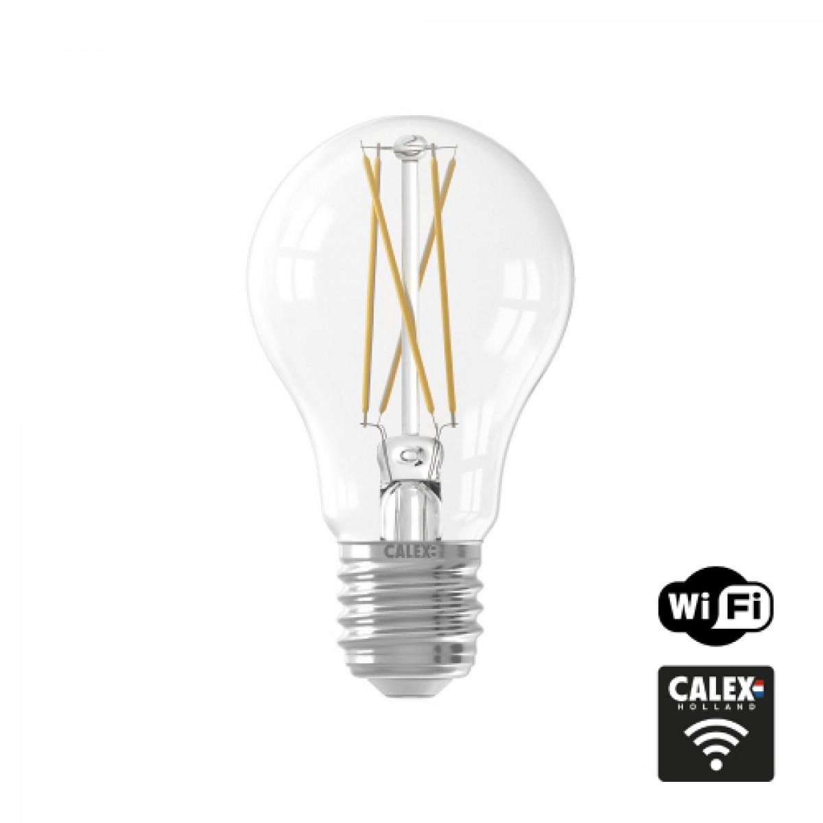 LED lichtbron incl. WIFI ambiance dimmer (429012-LED) - calex - Losse Sensoren en Bewegingsmelders