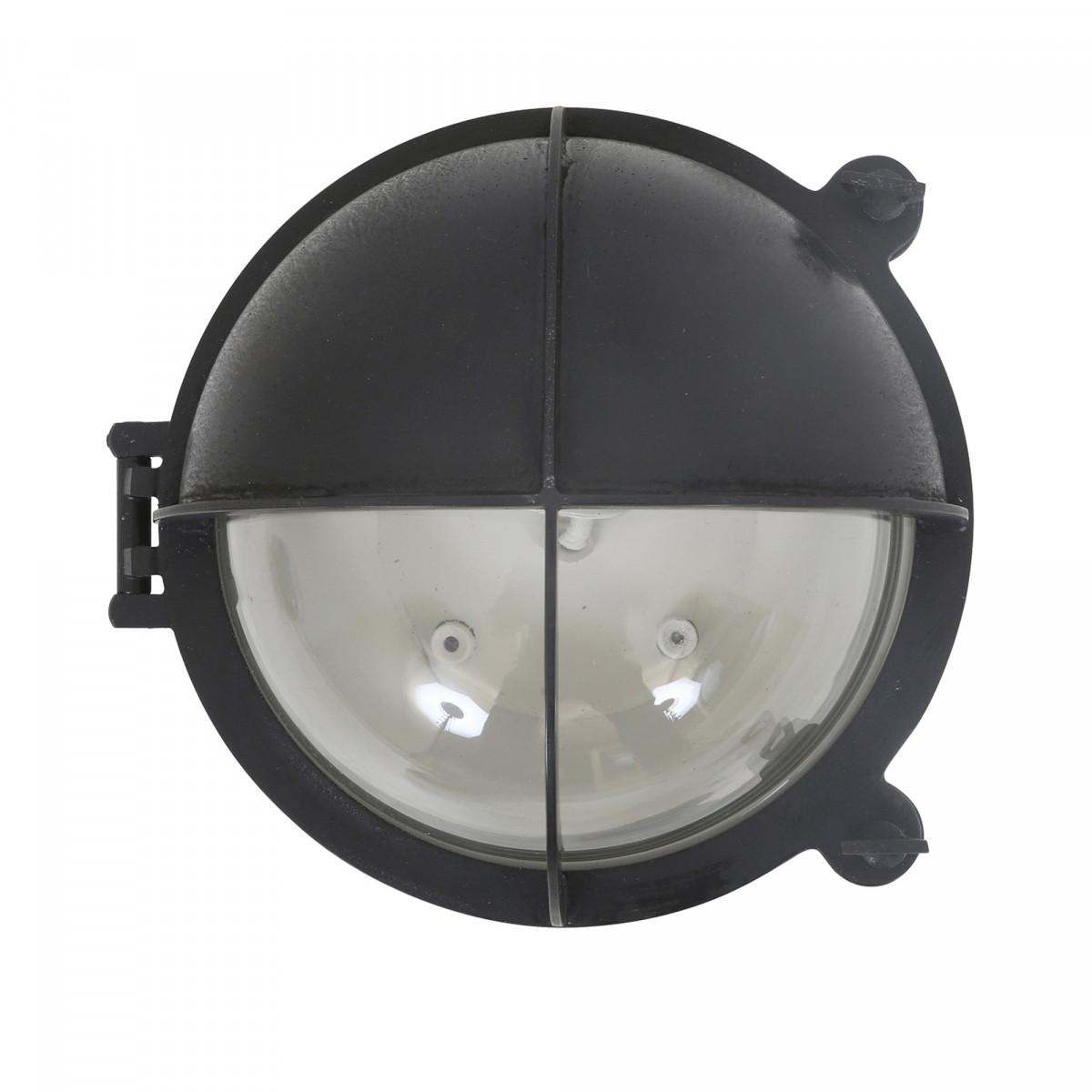 Scheepslamp Taylor antiek zwart