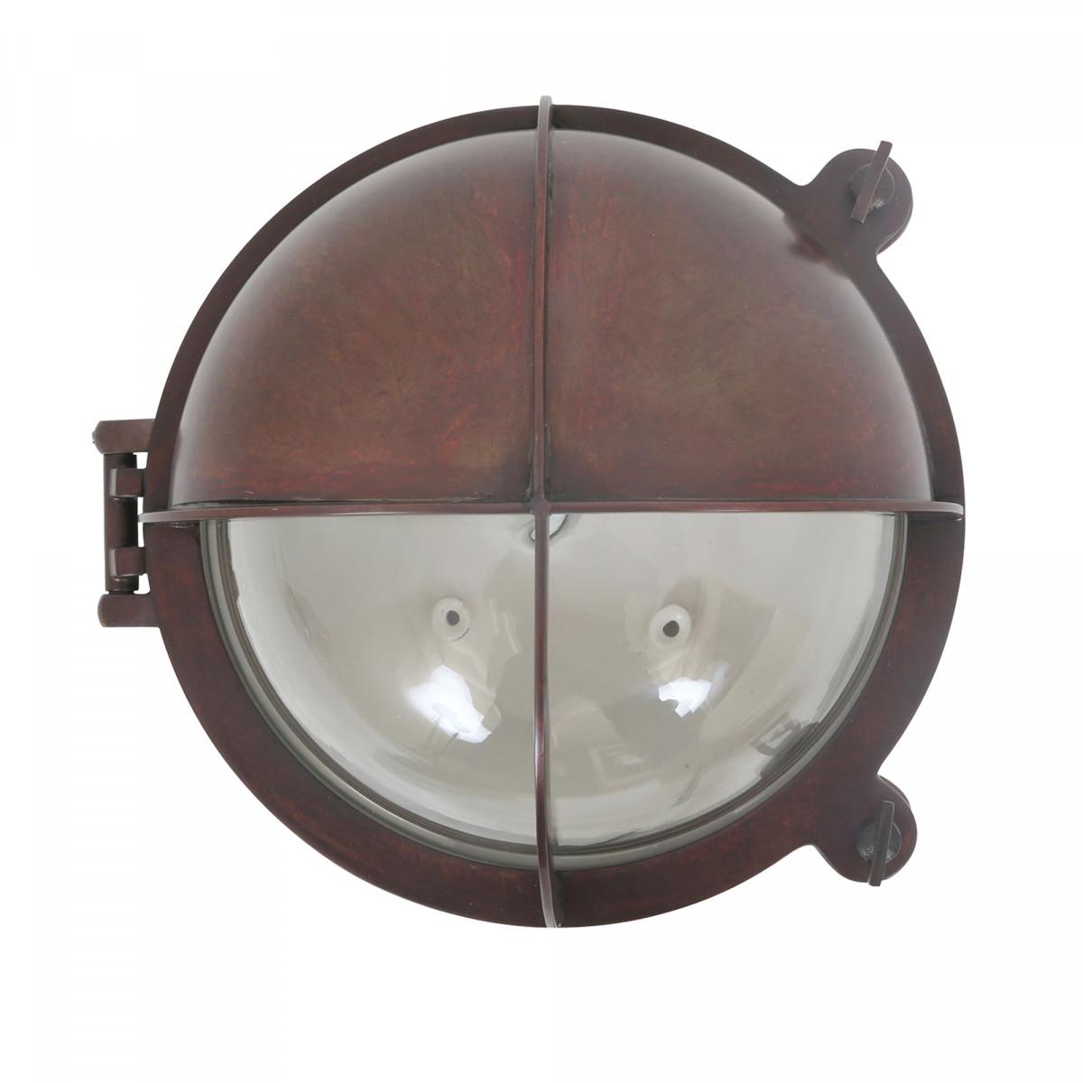 Scheepslamp Taylor antiek donker messing