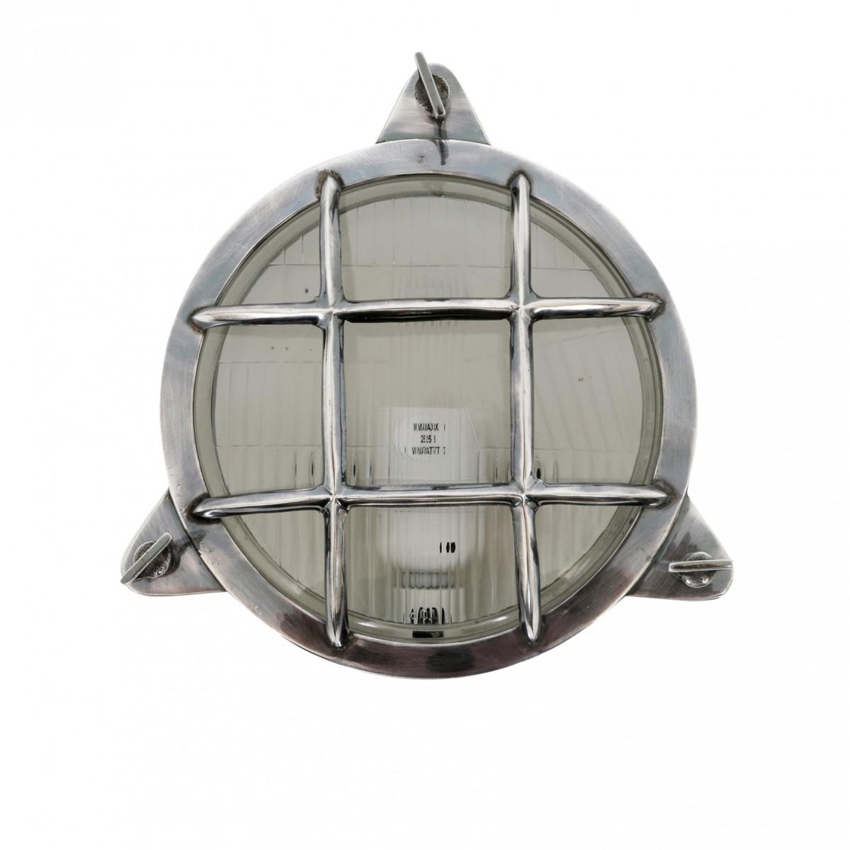 muur/plafond lamp Clipper antiek zilver