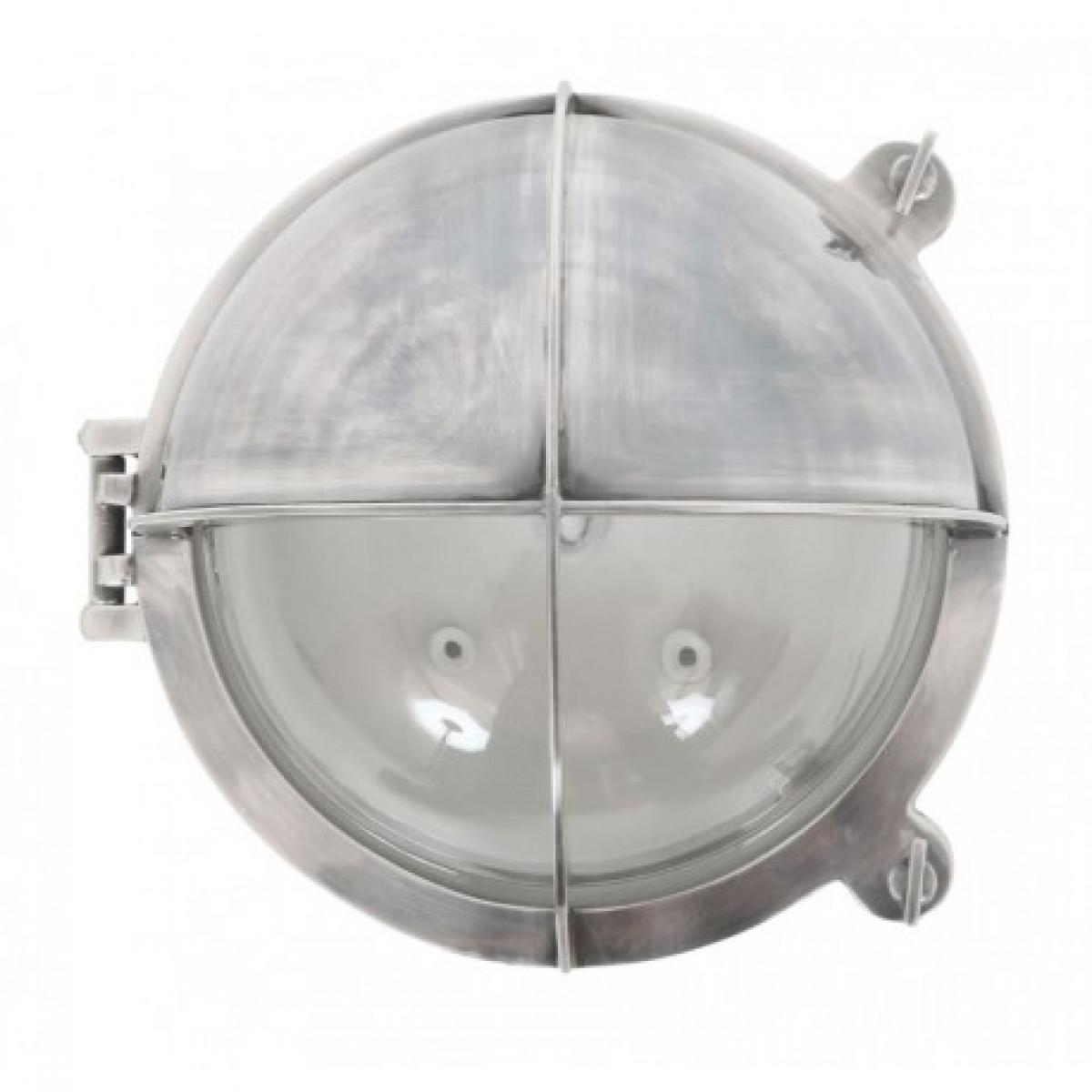 maritieme lampen - Scheepslamp Taylor antiek zilver - scheepsverlichting - Nostalux