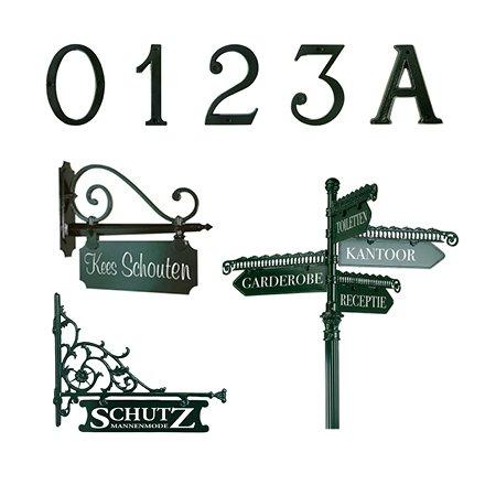 Huisnummers en Naamborden