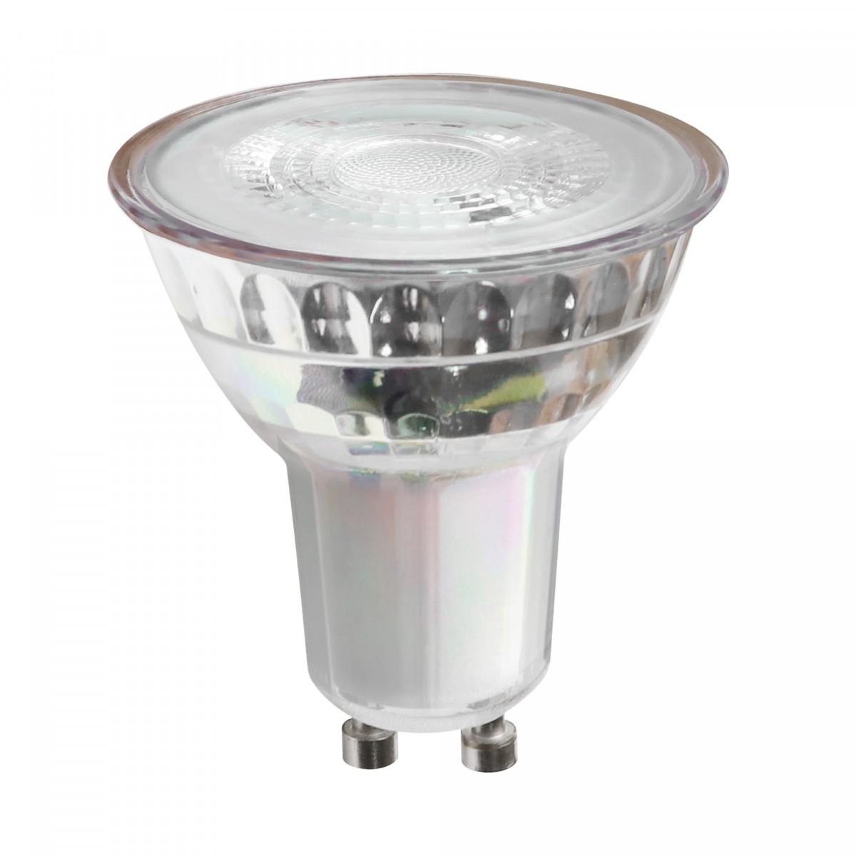 6-pack GU10 LED COB GLAS