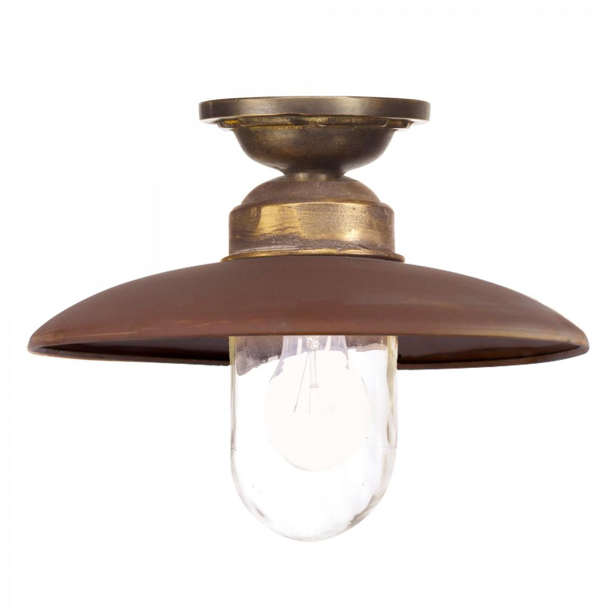 lampen voor onder de overkapping - exclusieve onderhoudsvrije plafondlamp Landes - Nostalux