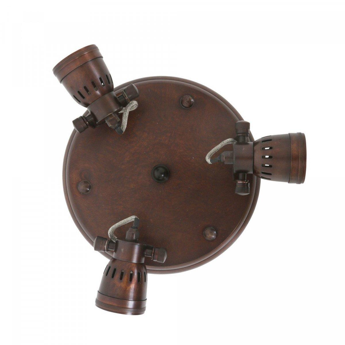 Westham plafonniere vintage brons