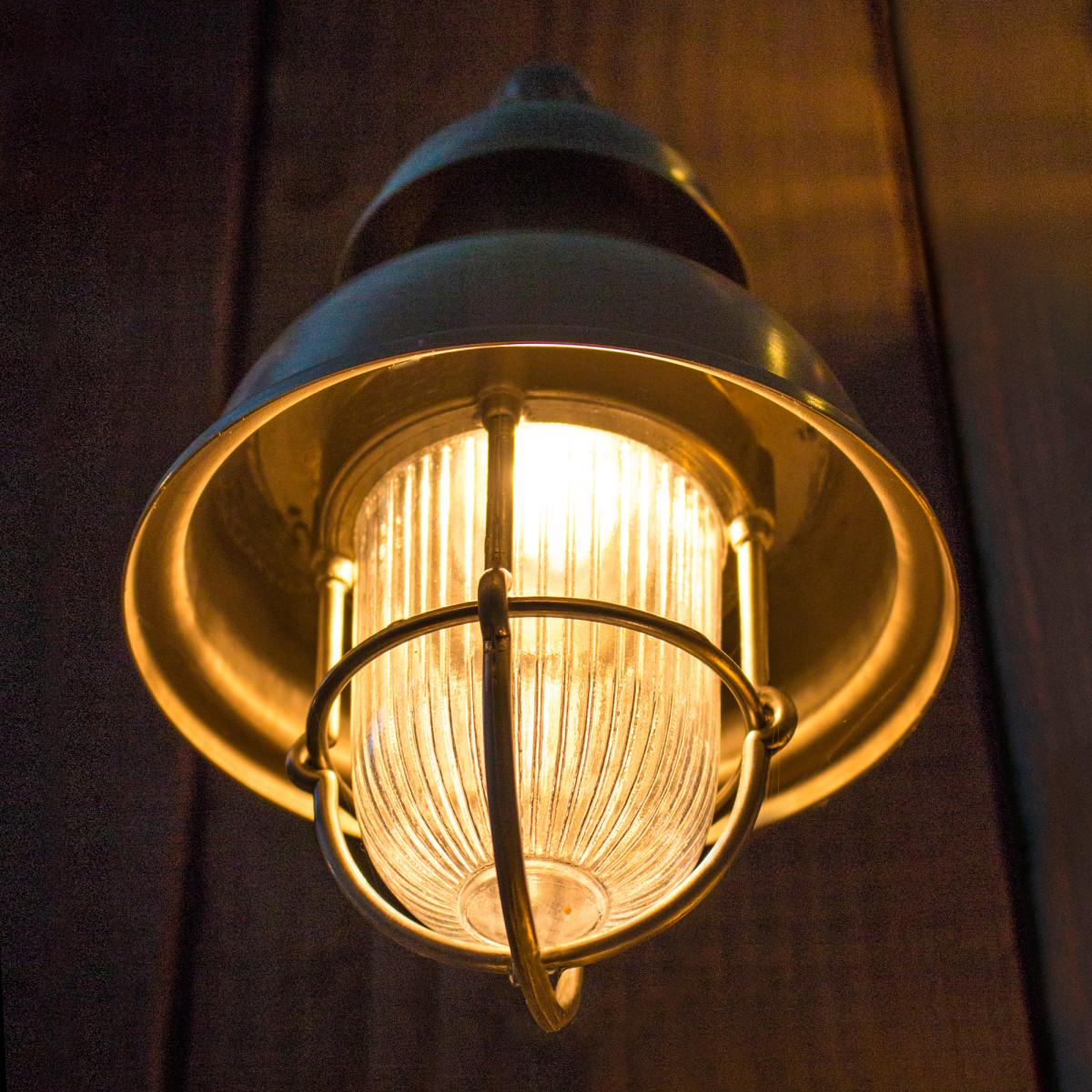 Scheepslamp antiek Wharf