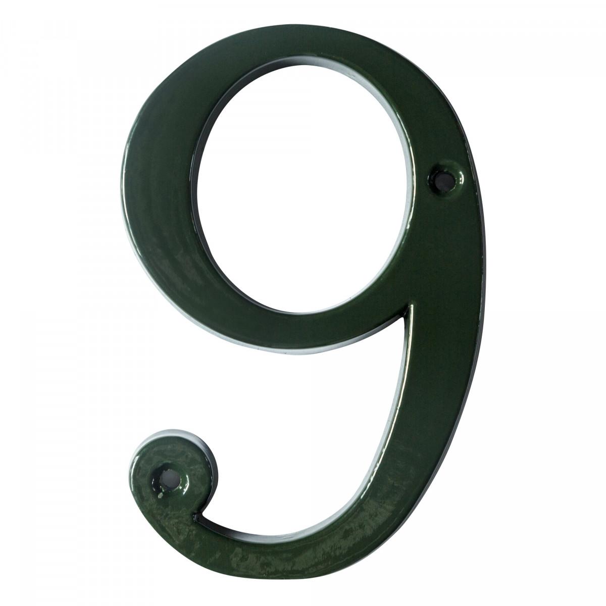 Huisnummer 9 (5859) - KS Verlichting - Huisnummers
