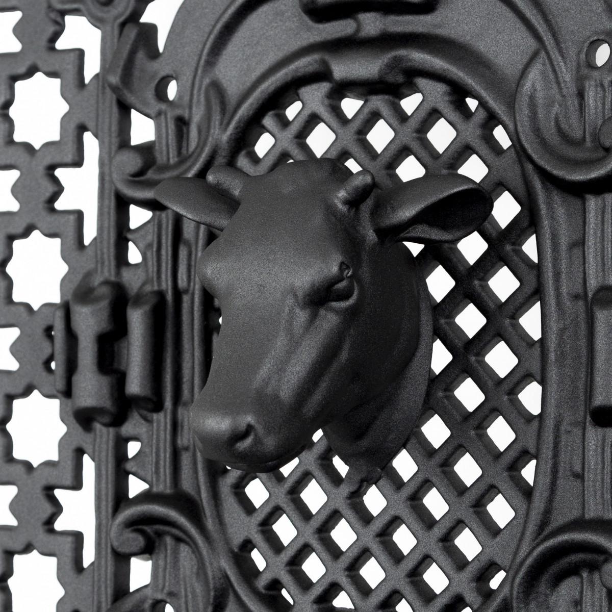 Deurrooster R 491 Koeienkop H:97 x B:60 (5341) -  - Deurroosters