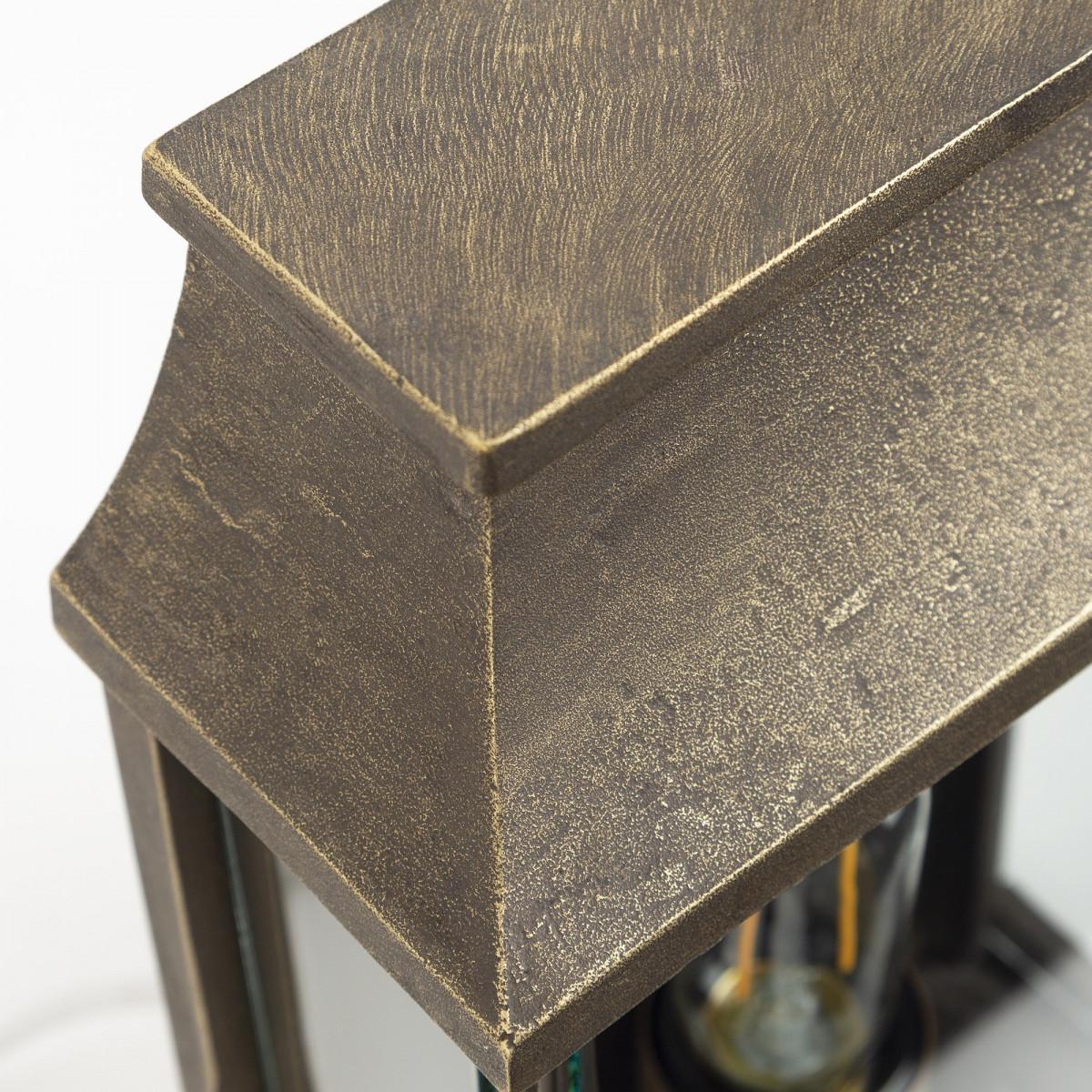 Goteborg - Buitenlamp Vierkant brons