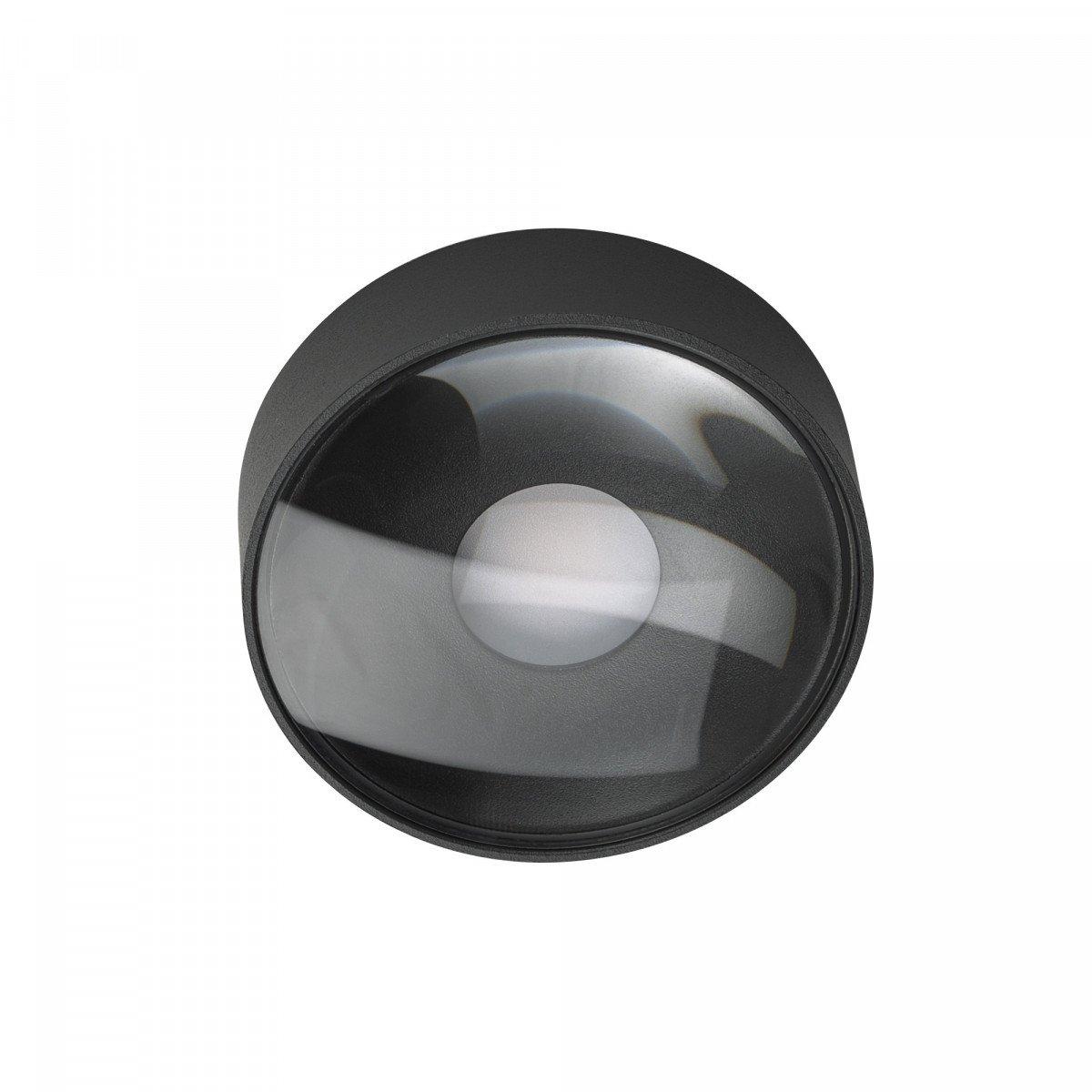 Icon plafonniere down zwart