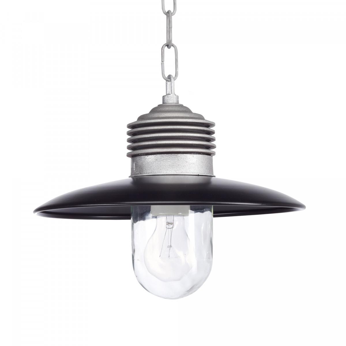 Hanglamp Ampere ketting Alu./Zwart (1199ZD) - KS Verlichting - Stoer & Industrieel