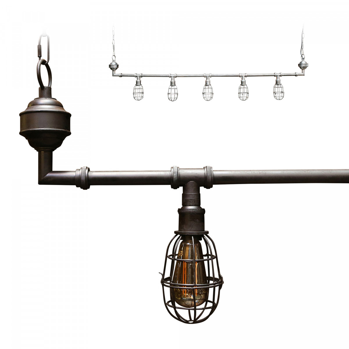 Hanglamp Sandford black