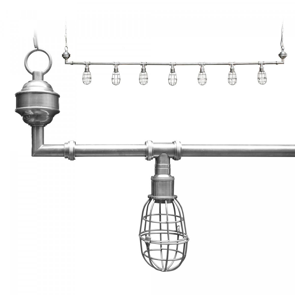 Hanglamp Sandford 7 l silver