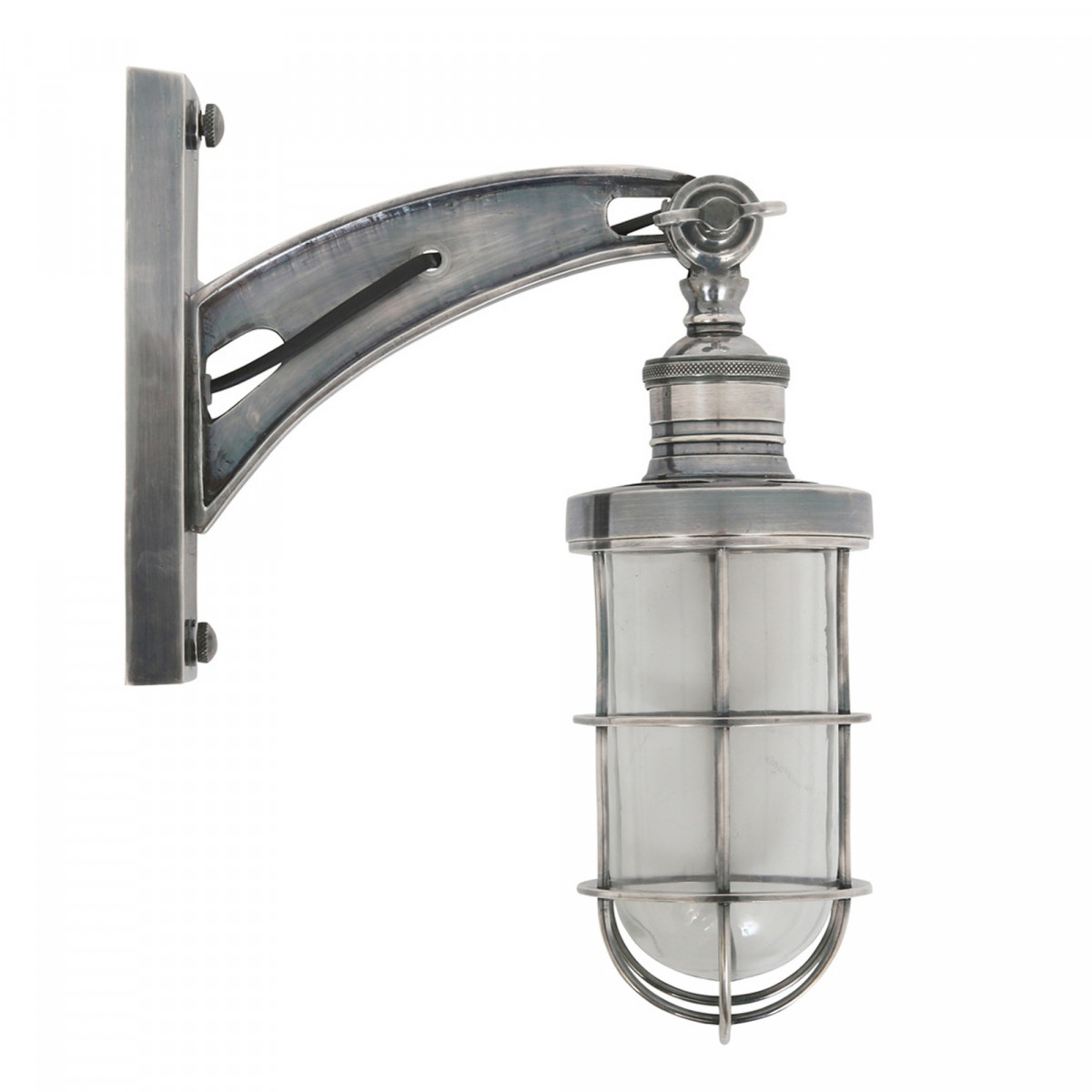 industriele wandlamp - Hudson - wandlampen industrieel design - draaibaar - Nostalux