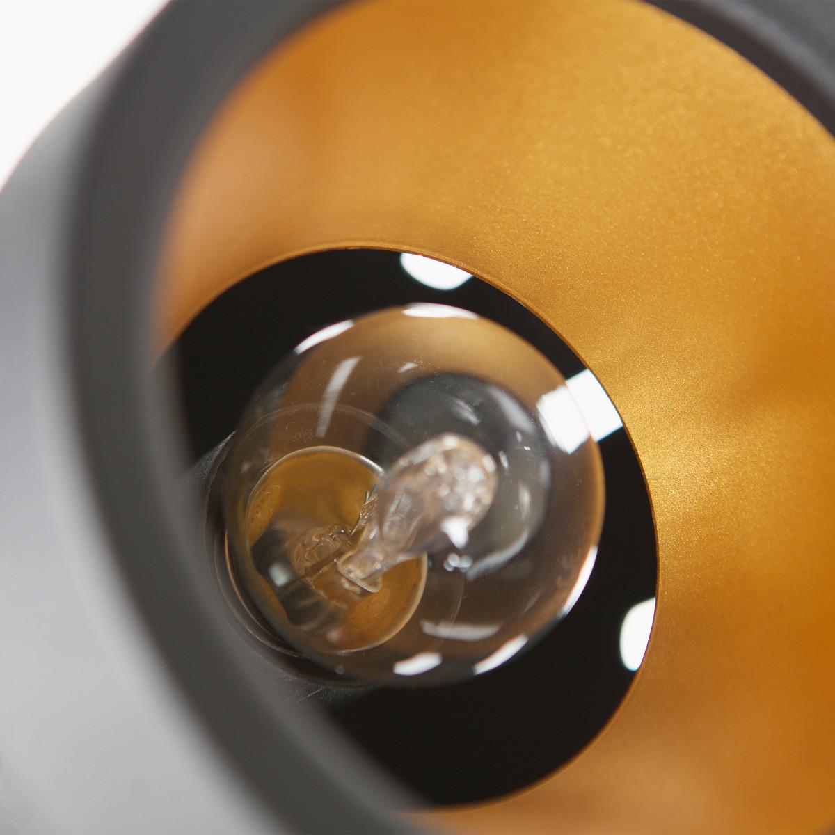 Vloerlamp Bente zwart