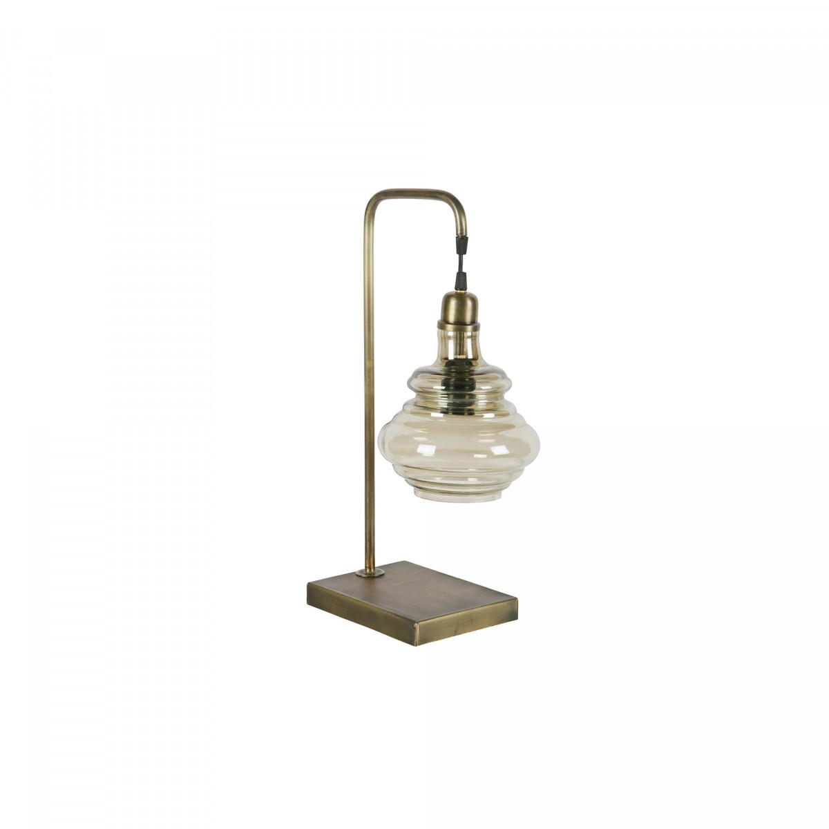 BePure Tafellamp Obvious antique brass