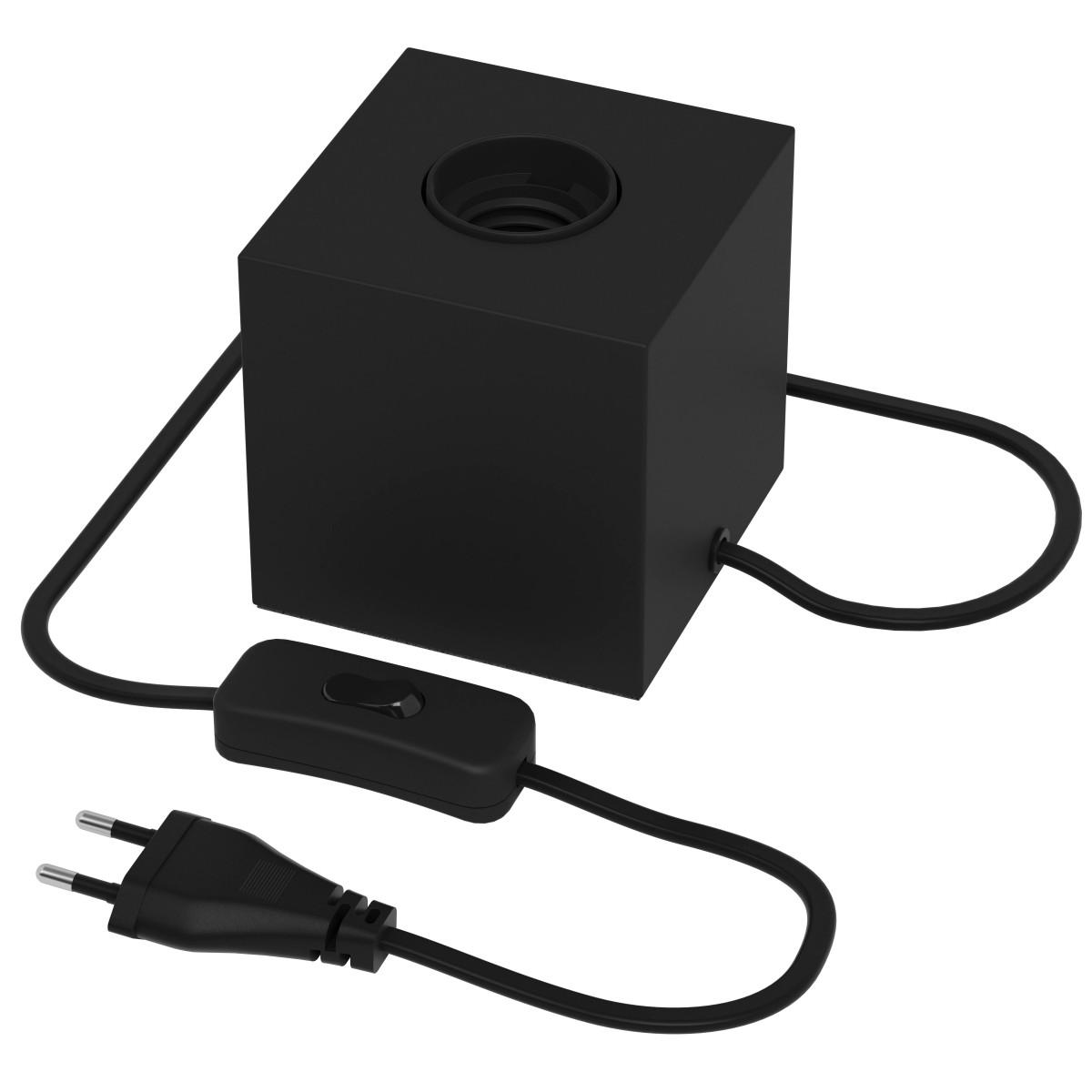 Tafellamp Zwart met e27 fitting