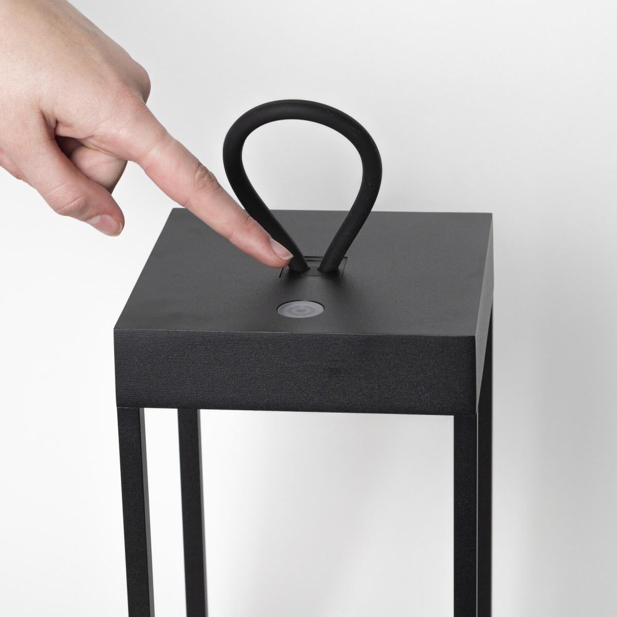 Carlo Touch oplaadbaar corten met USB