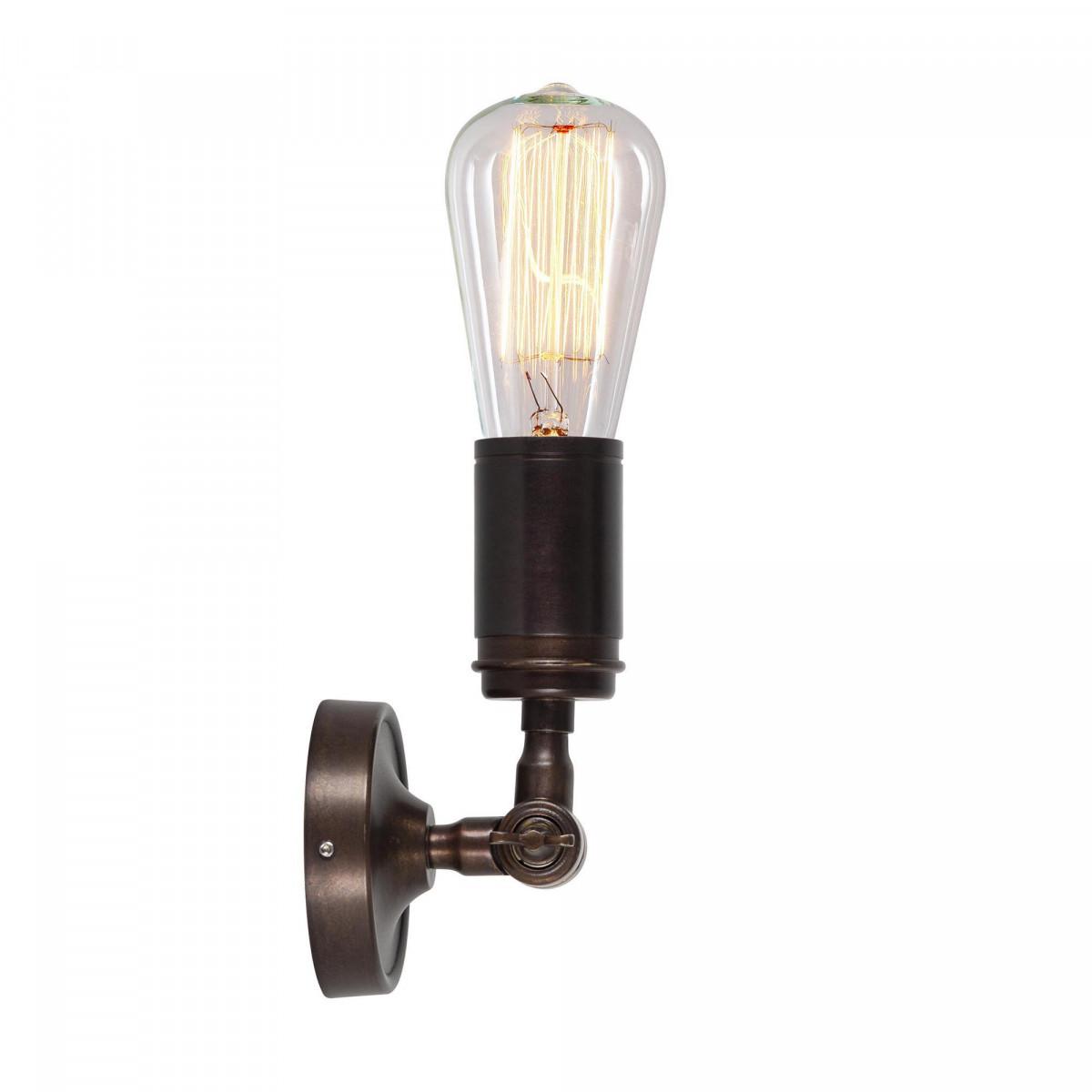 Plafondlamp Spot Emeli antiek brons