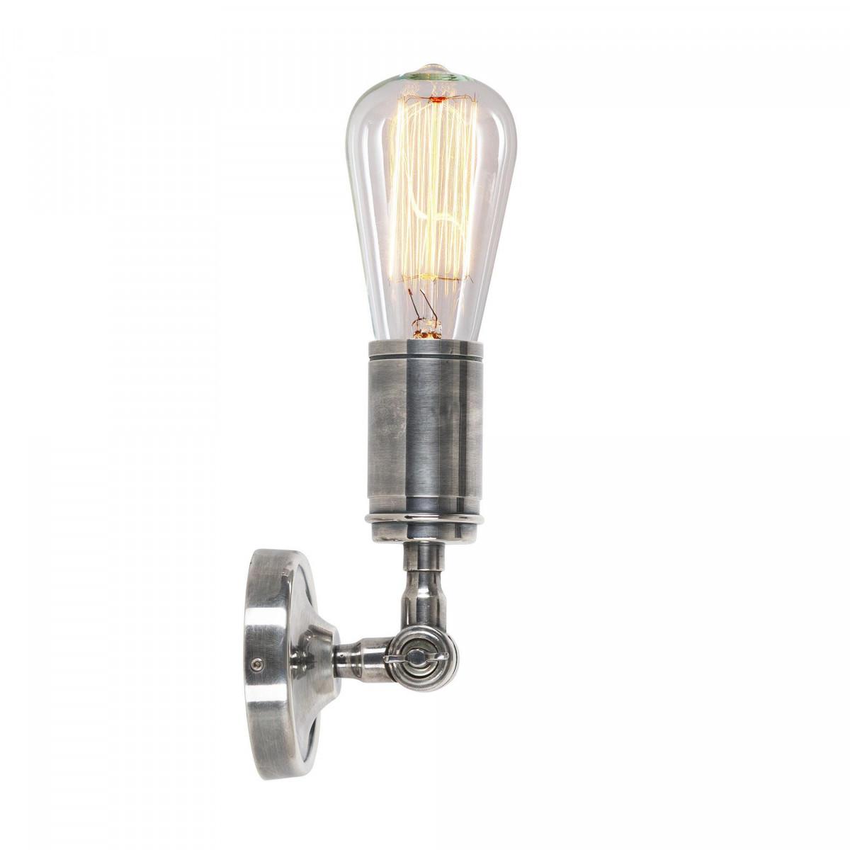 Plafondlamp Spot Emeli antiek zilver