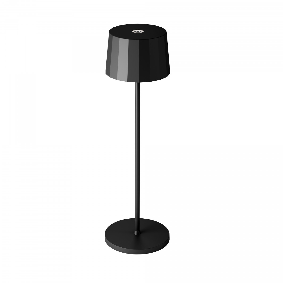 Tafellamp Lido Touch zwart met USB
