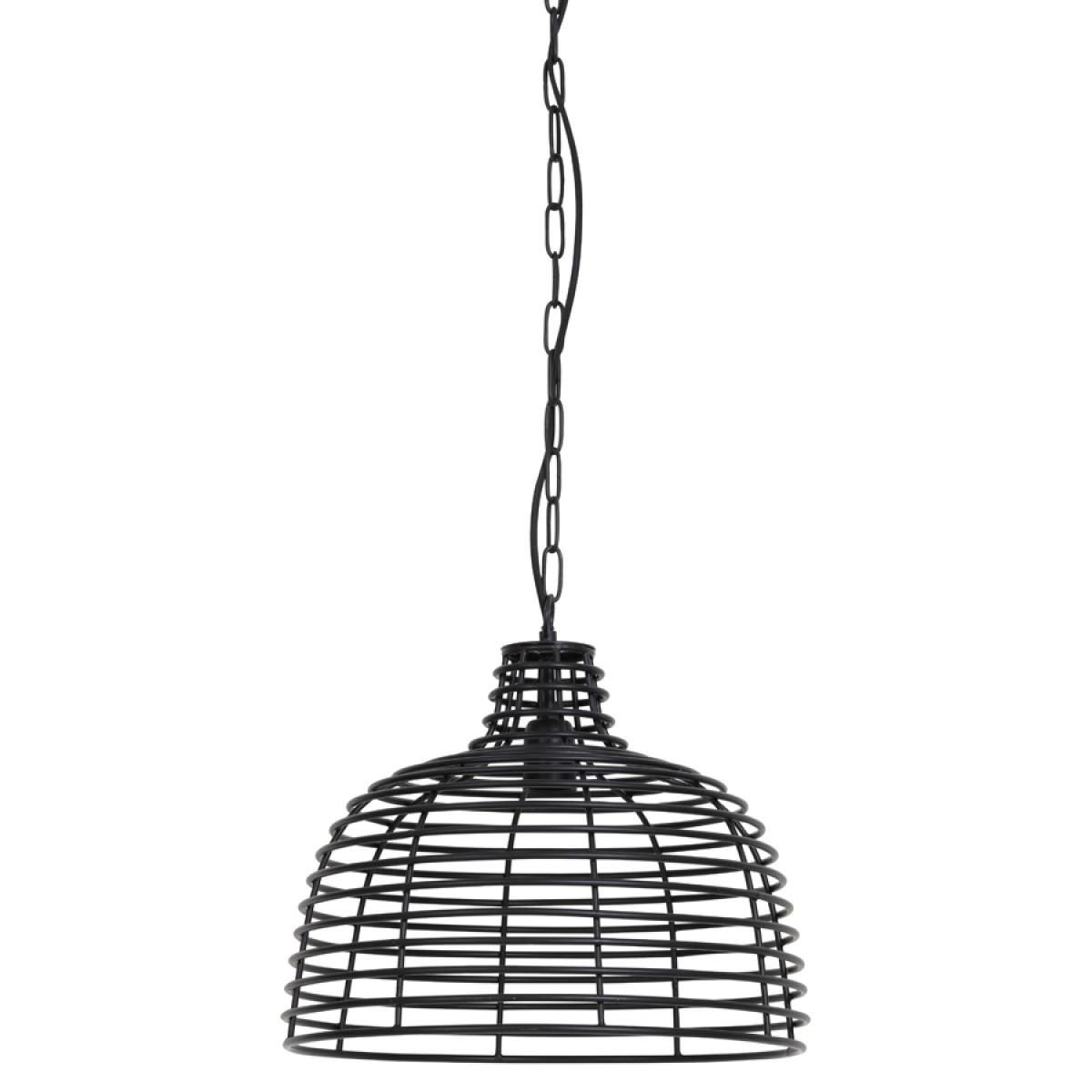 Hanglamp Joy metaal mat zwart