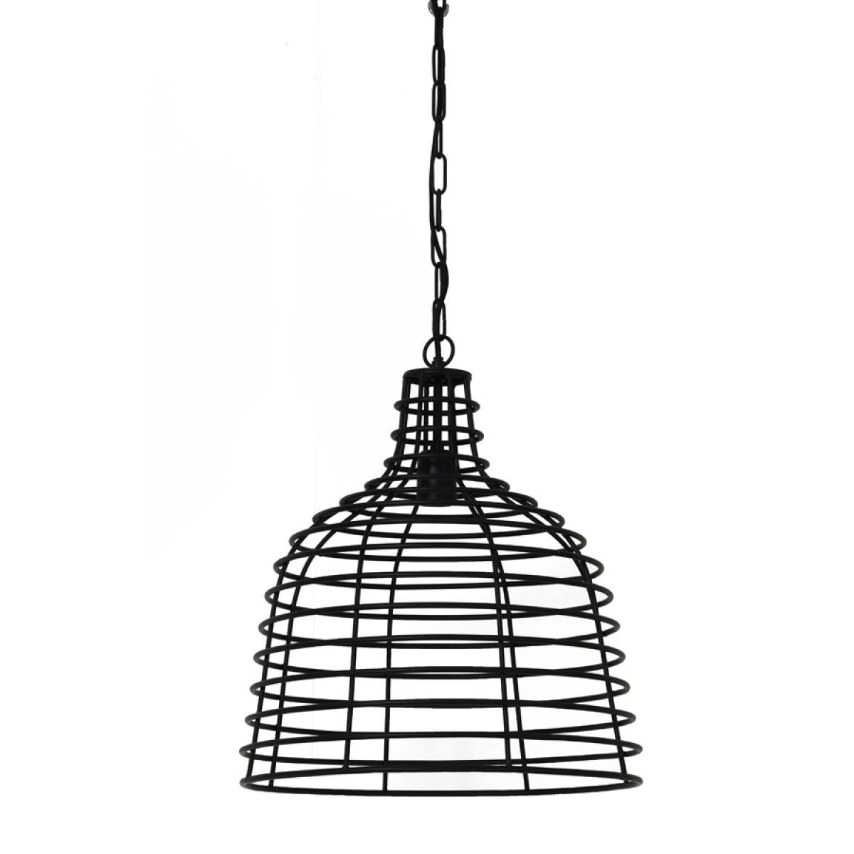 Hanglamp Jazz metaal mat zwart