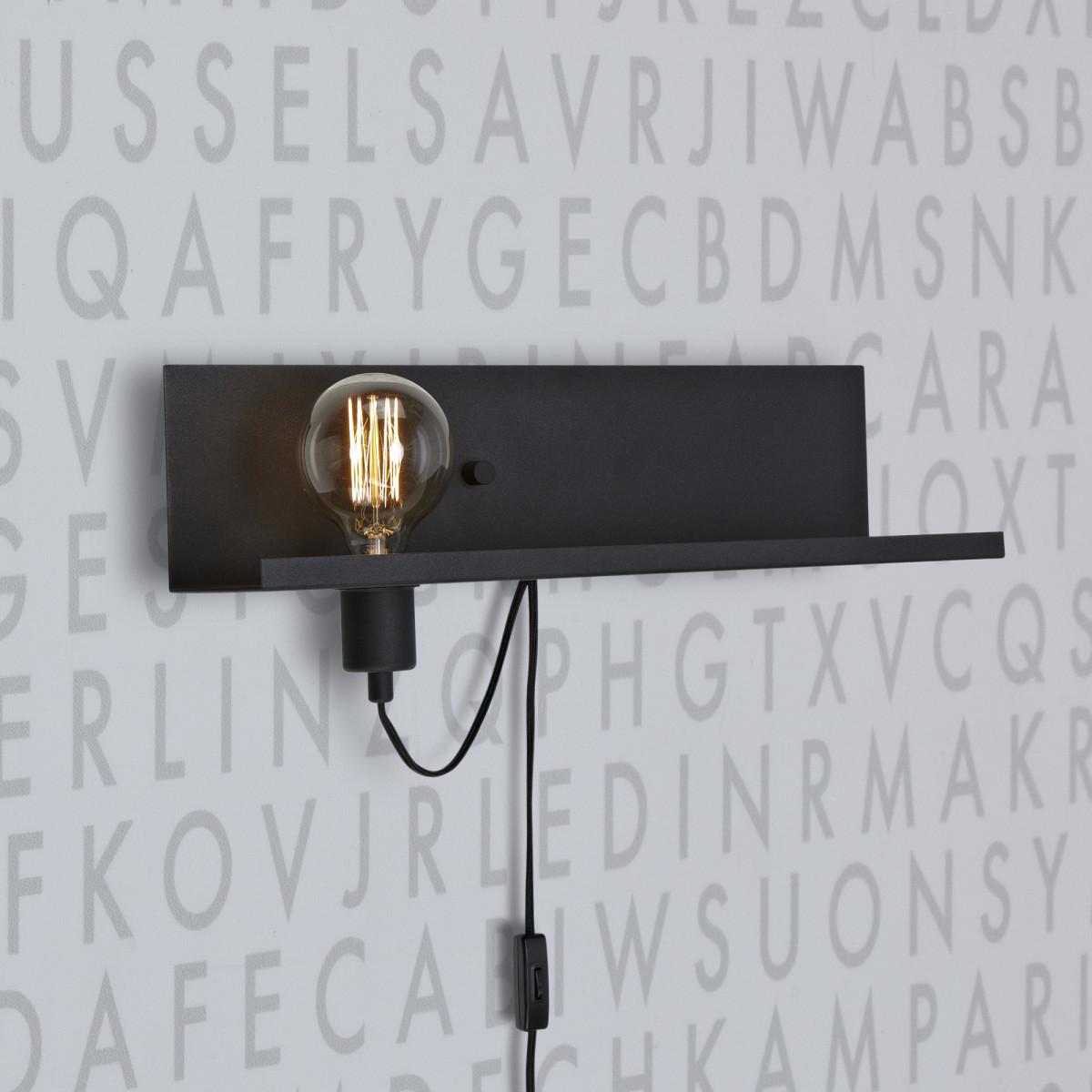 Wandlamp Multi met USB oplaadstation