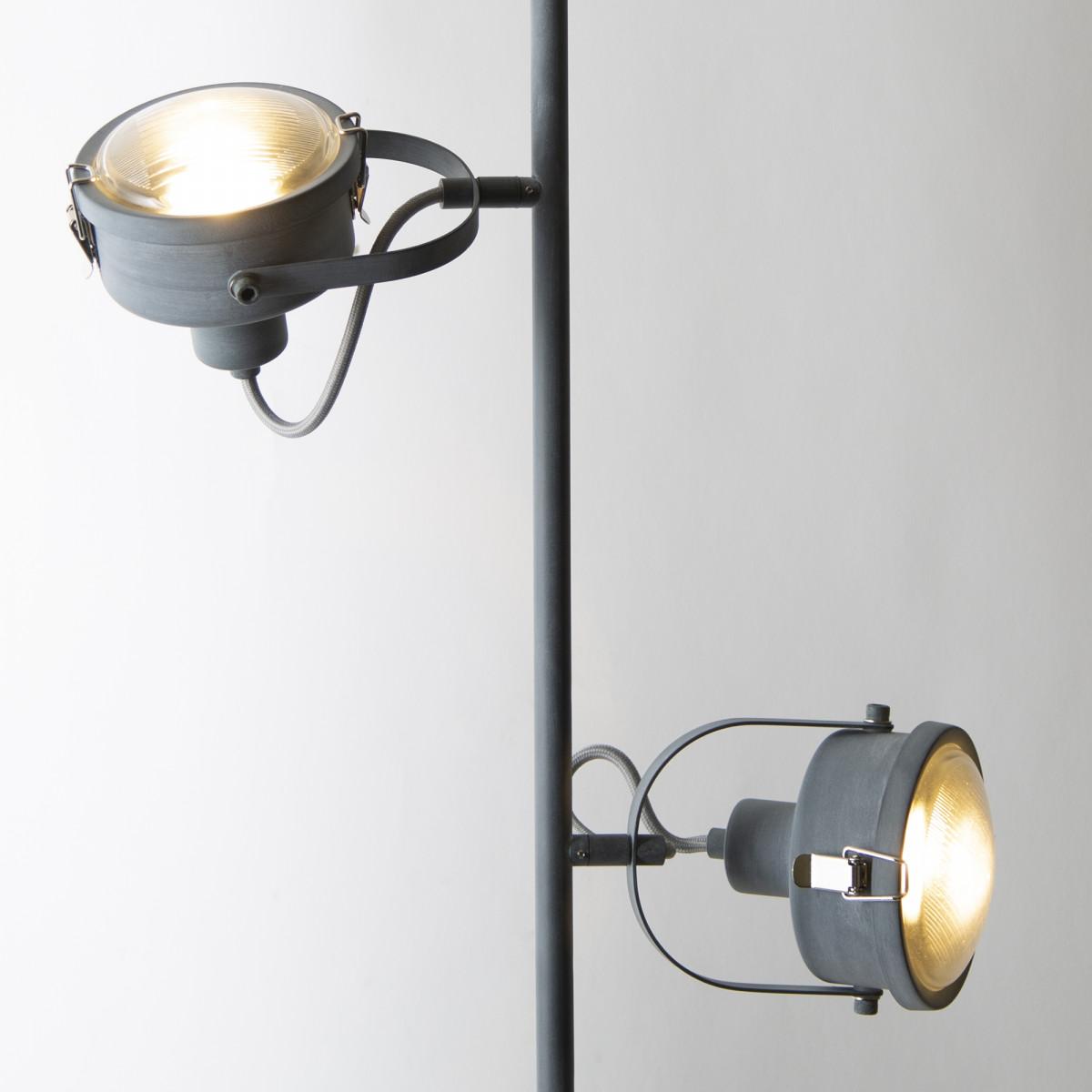 Staande lamp Satellite grijs