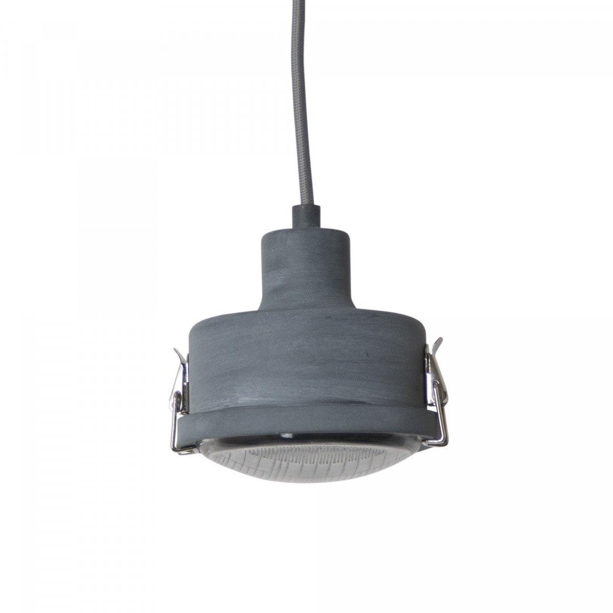 industriele hanglampen - hanglamp Satellite grijs of zwart - stoere lampen - Nostalux