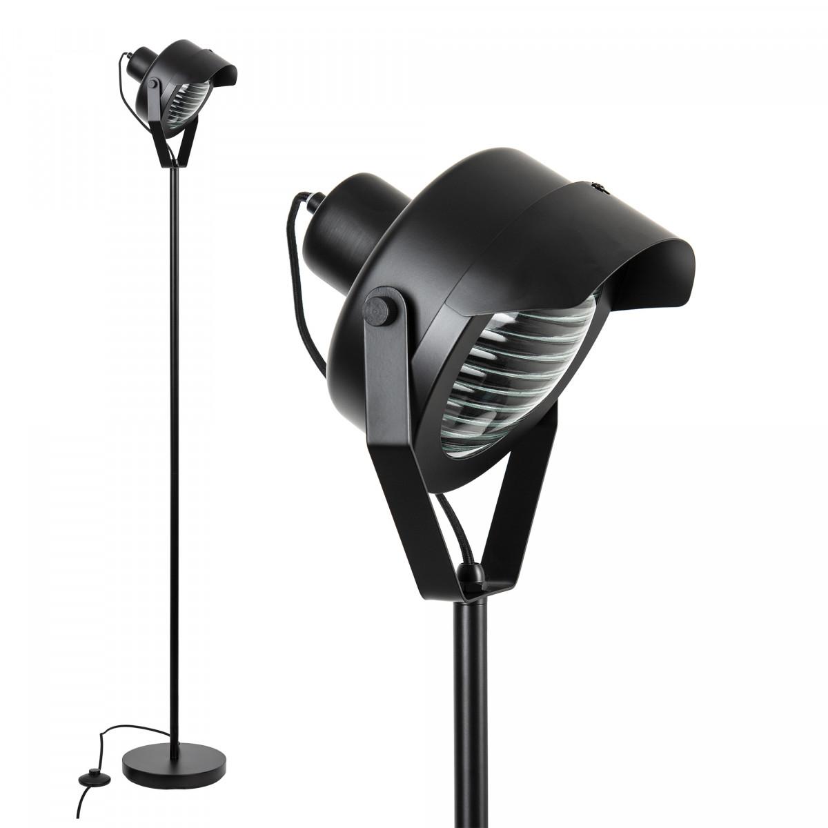 vloerlamp Stage zwart