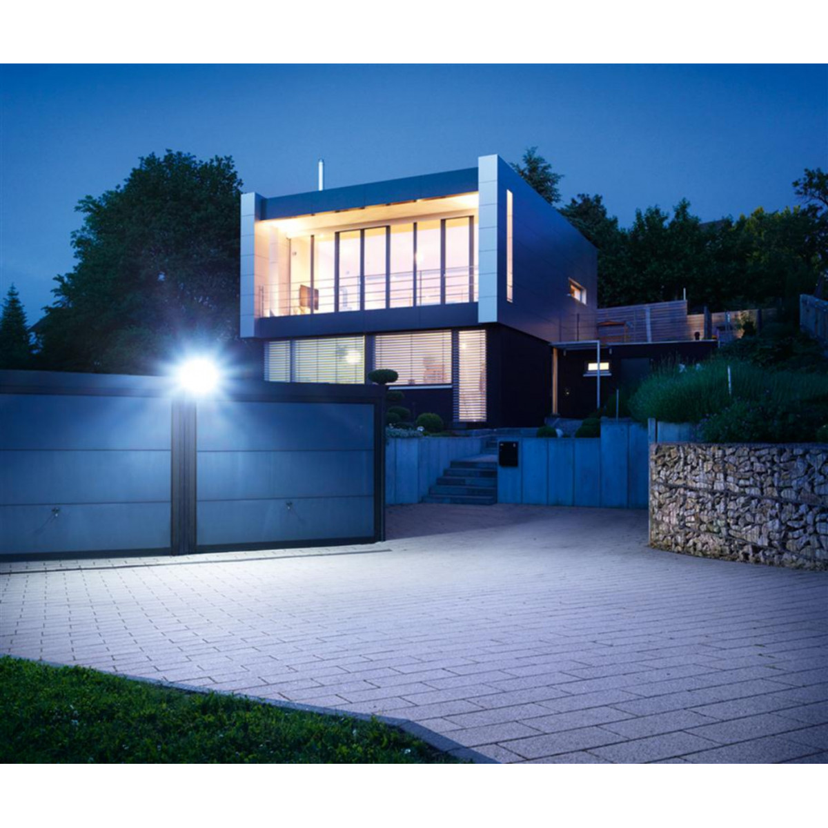 Steinel LED straler XLED home 2 Grafiet