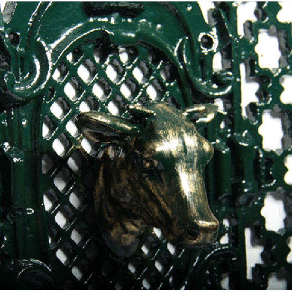 Deurrooster R 491 A Koeienkop H:103 x B:52 (5342) -  - Deurroosters