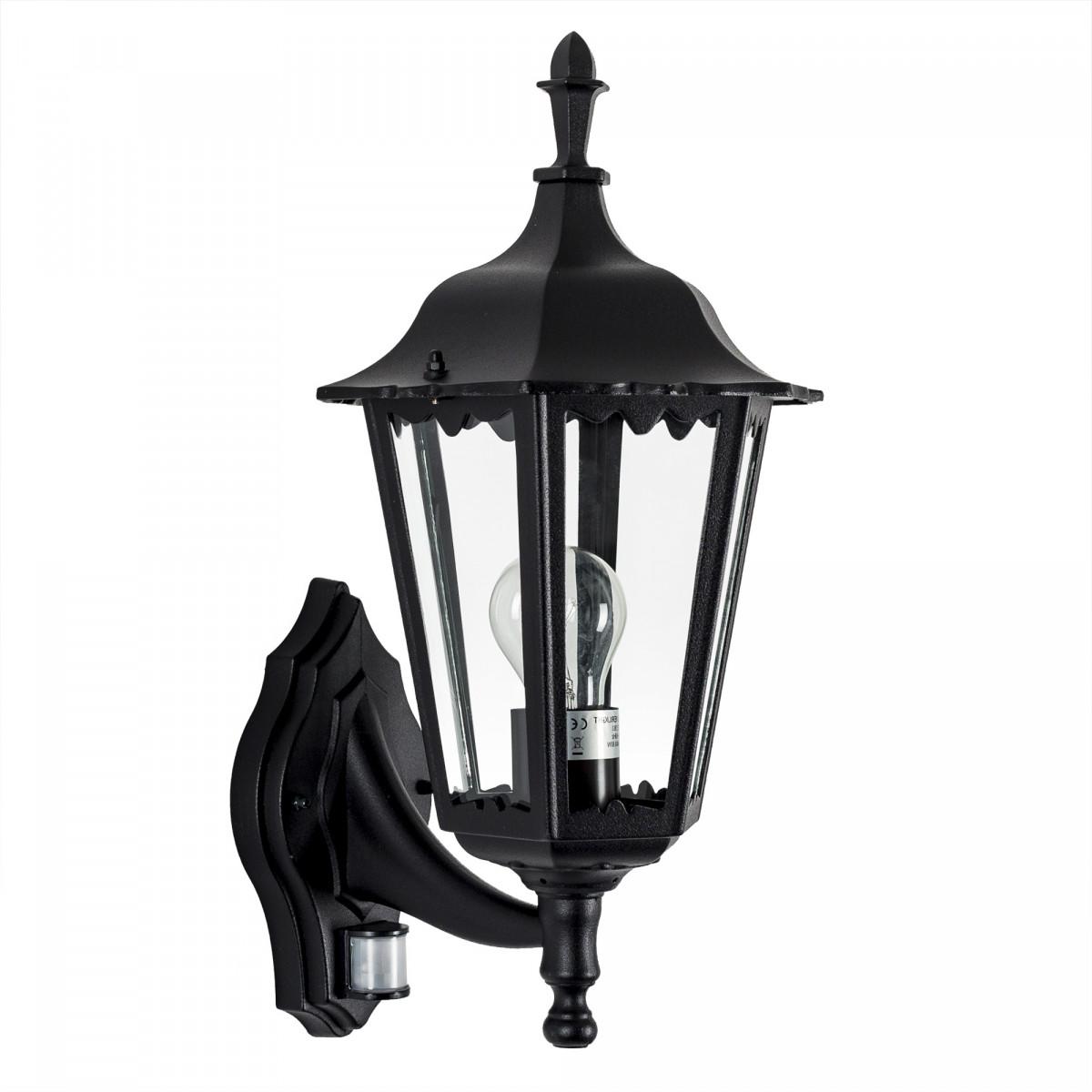 Buitenlamp met sensor - Ancona staand + bewegingssensor - KS Verlichting - Nostalux aanbieding