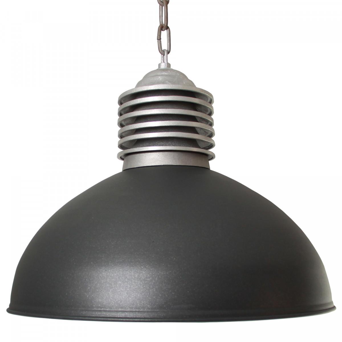 Hanglamp Old Industry Antraciet (1200K7) - KS Verlichting - Stoer & Industrieel