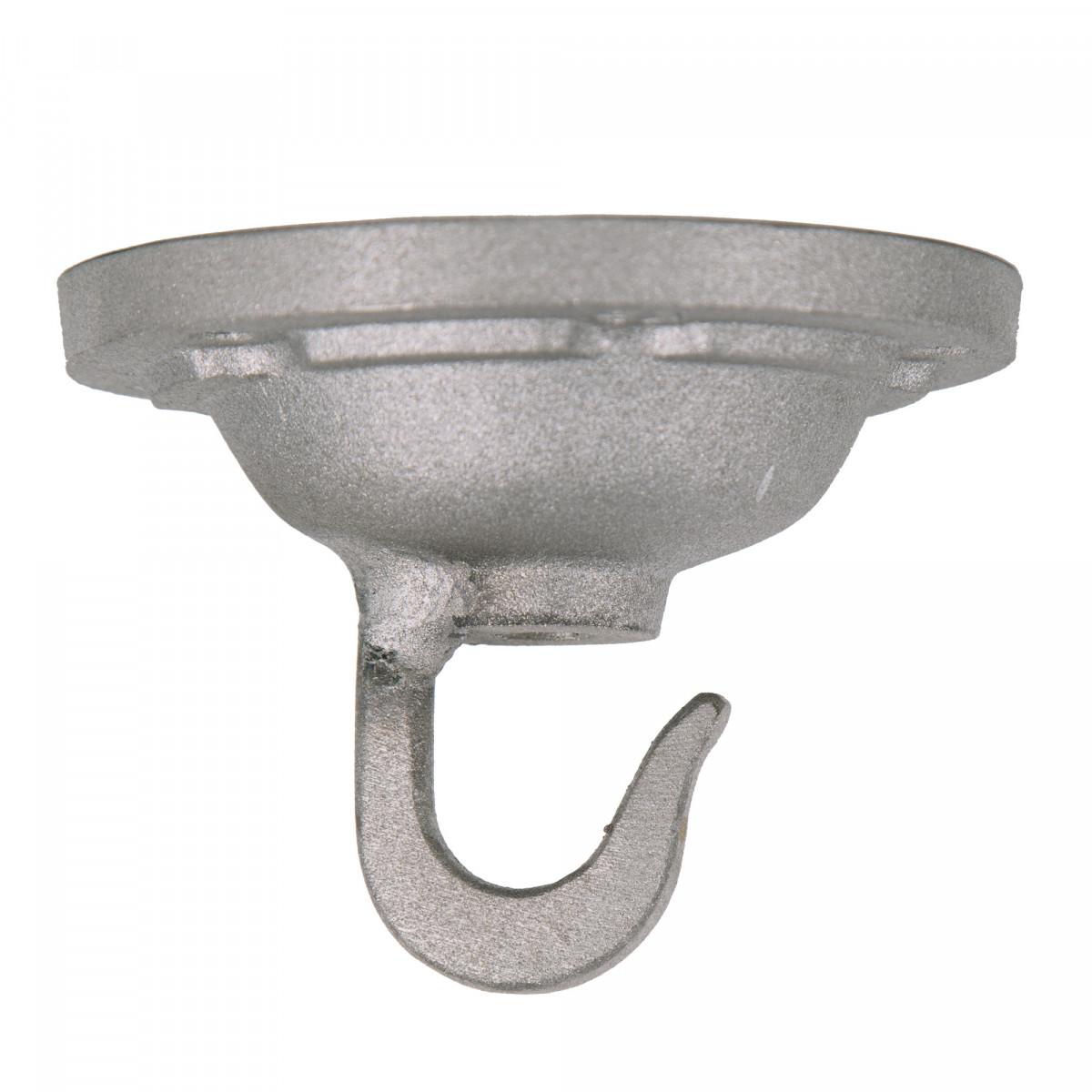 Plafondhaak ruw Alu. (3488) - KS Verlichting -  Industriele montage haak voor fabriekslampen
