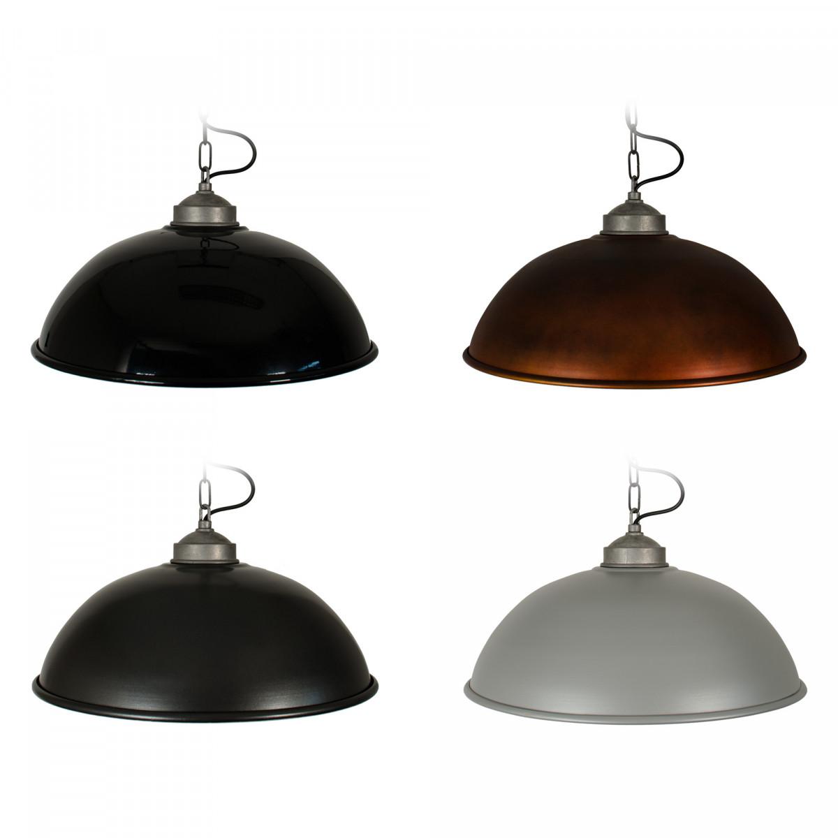 Hanglamp Industrial  Zwart (1201K4) - KS Verlichting - Stoer & Industrieel