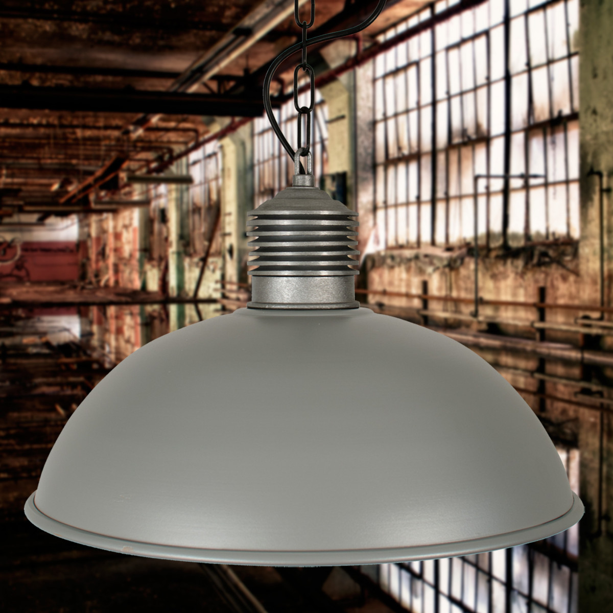 Industriele Hanglamp Ruw Alu