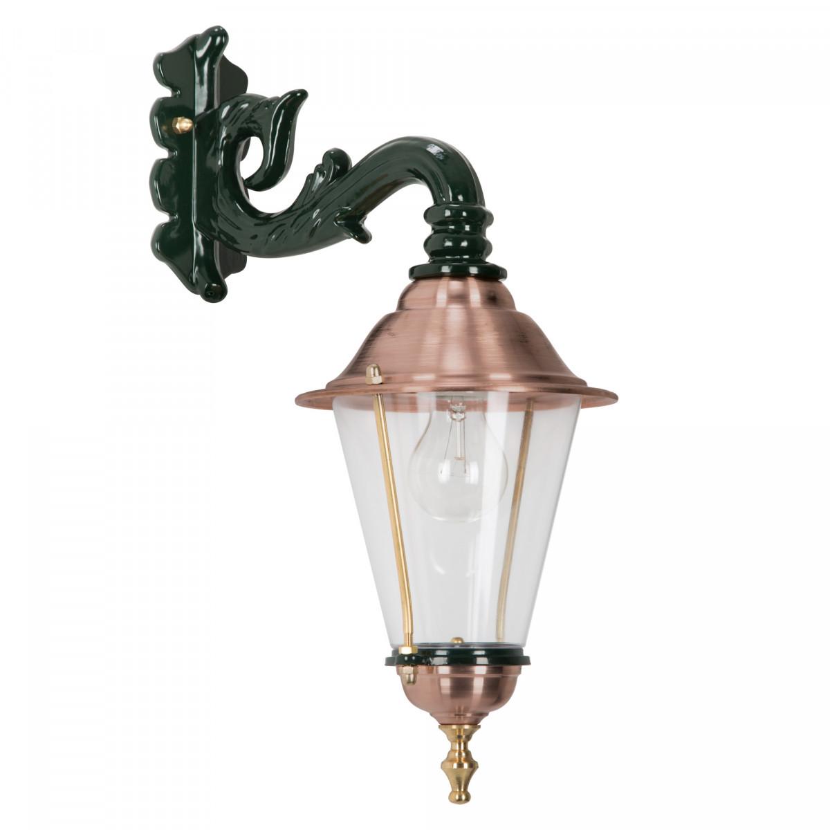 Klassieke buitenlamp Hoorn hang M rond
