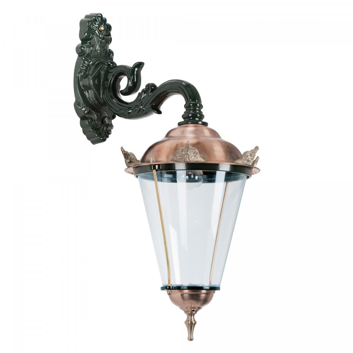 Volendam 3 hang L met kronen (1308) - KS Verlichting - Buitenverlichting Rond