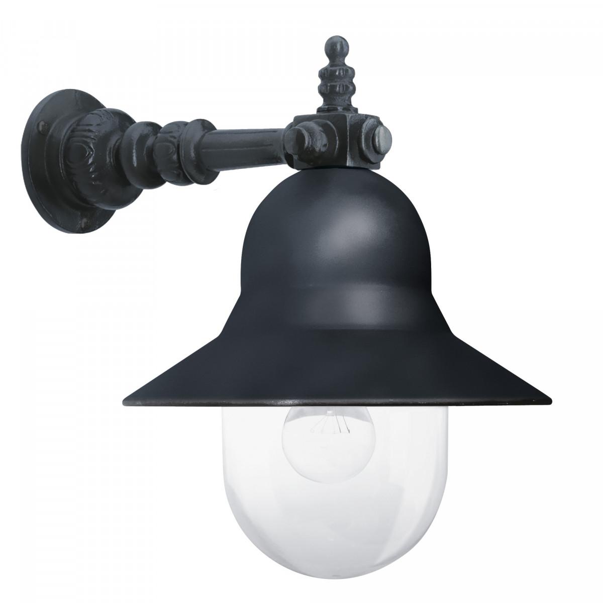 Klassieke buitenlamp Bretagne antraciet