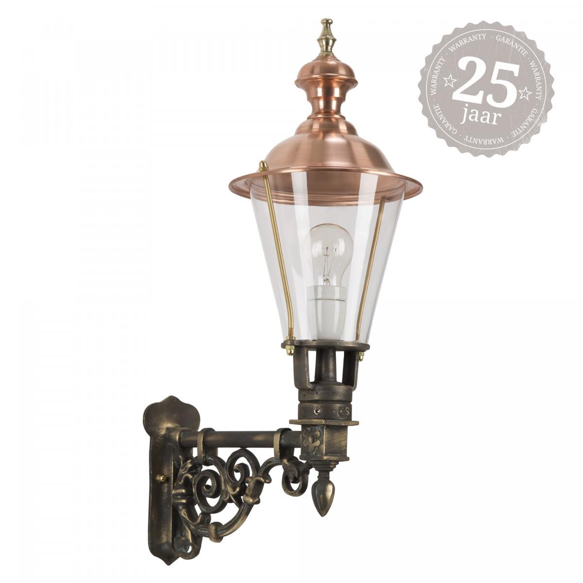 Bronzen buitenlamp Waldburg 7219