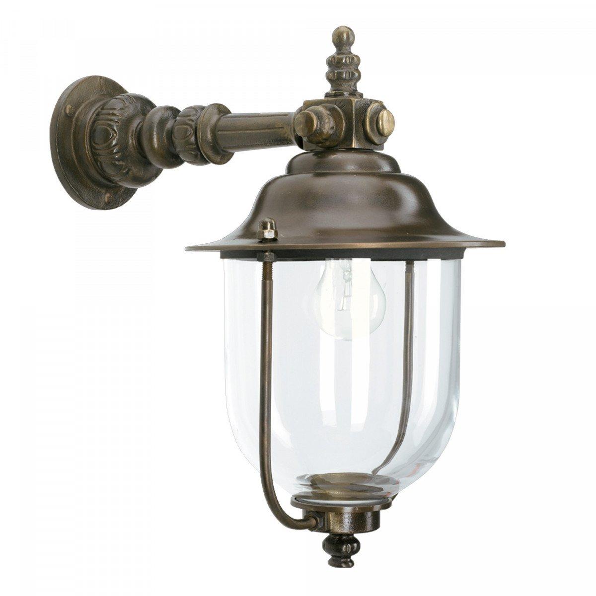 Bronzen buitenlamp
