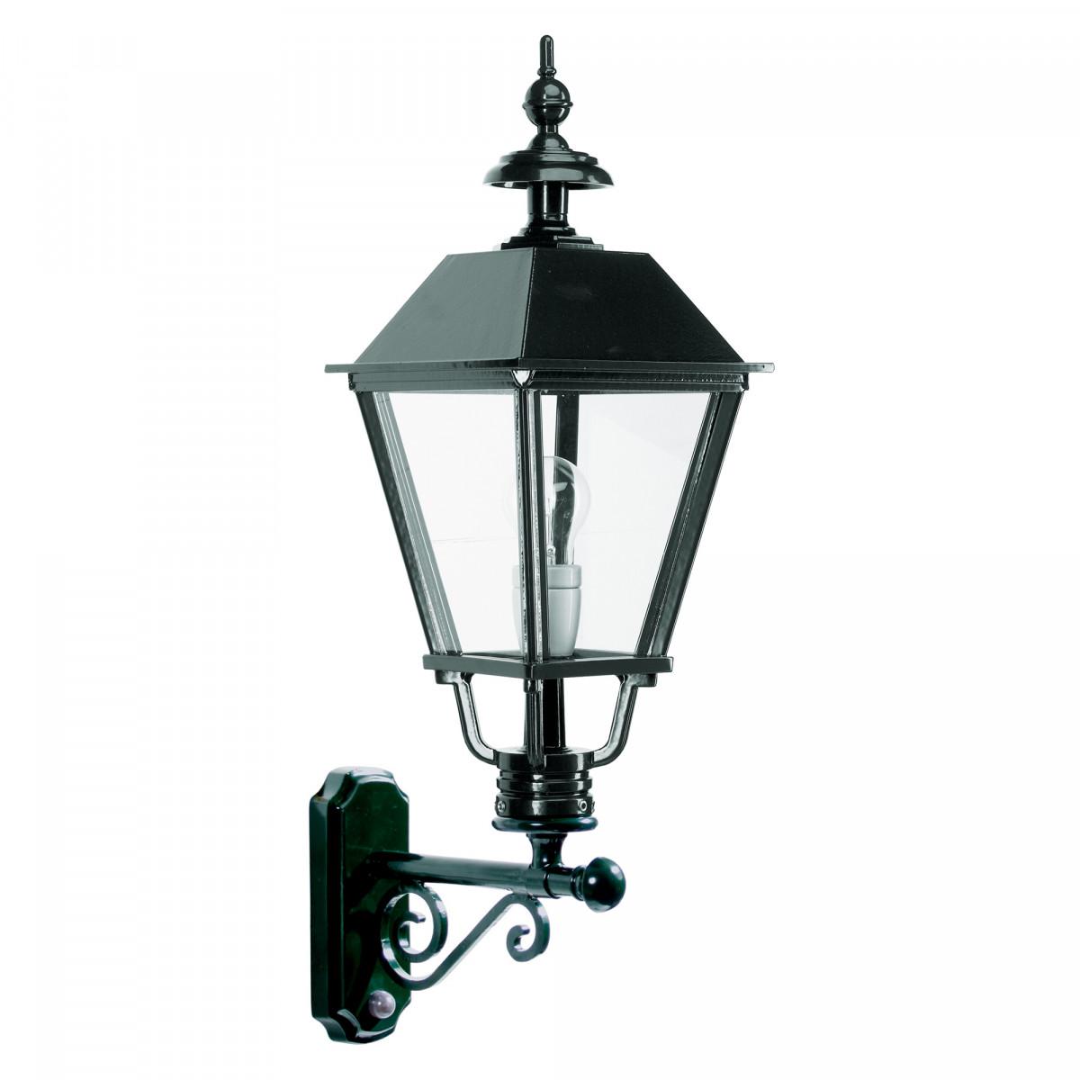 Buitenlamp met sensor -  Sensor verlichting Klassiek - Buitenlamp met bewegingsmelder