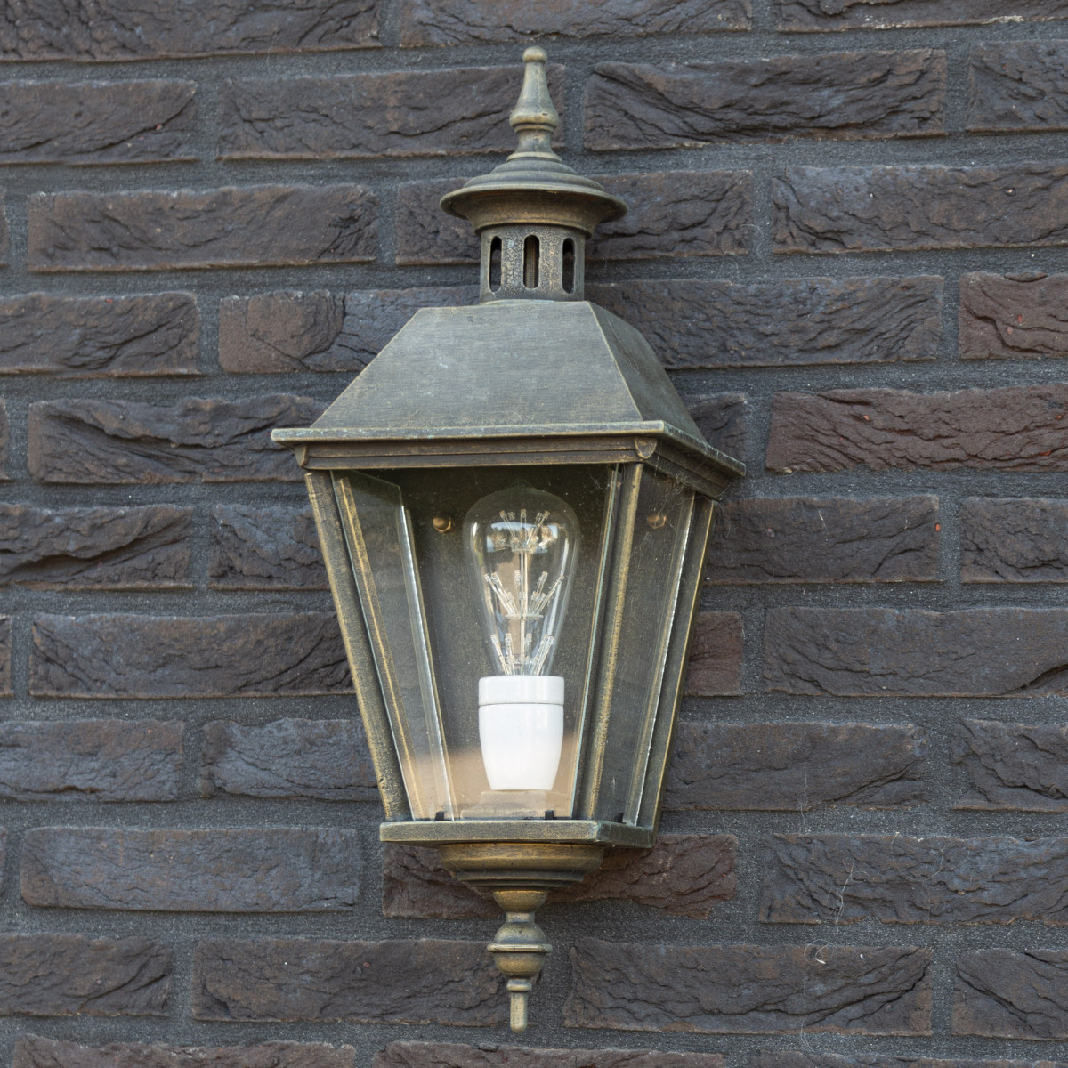 Oranjeburg Plat (1292) - KS Verlichting - Buitenverlichting Brons Koper