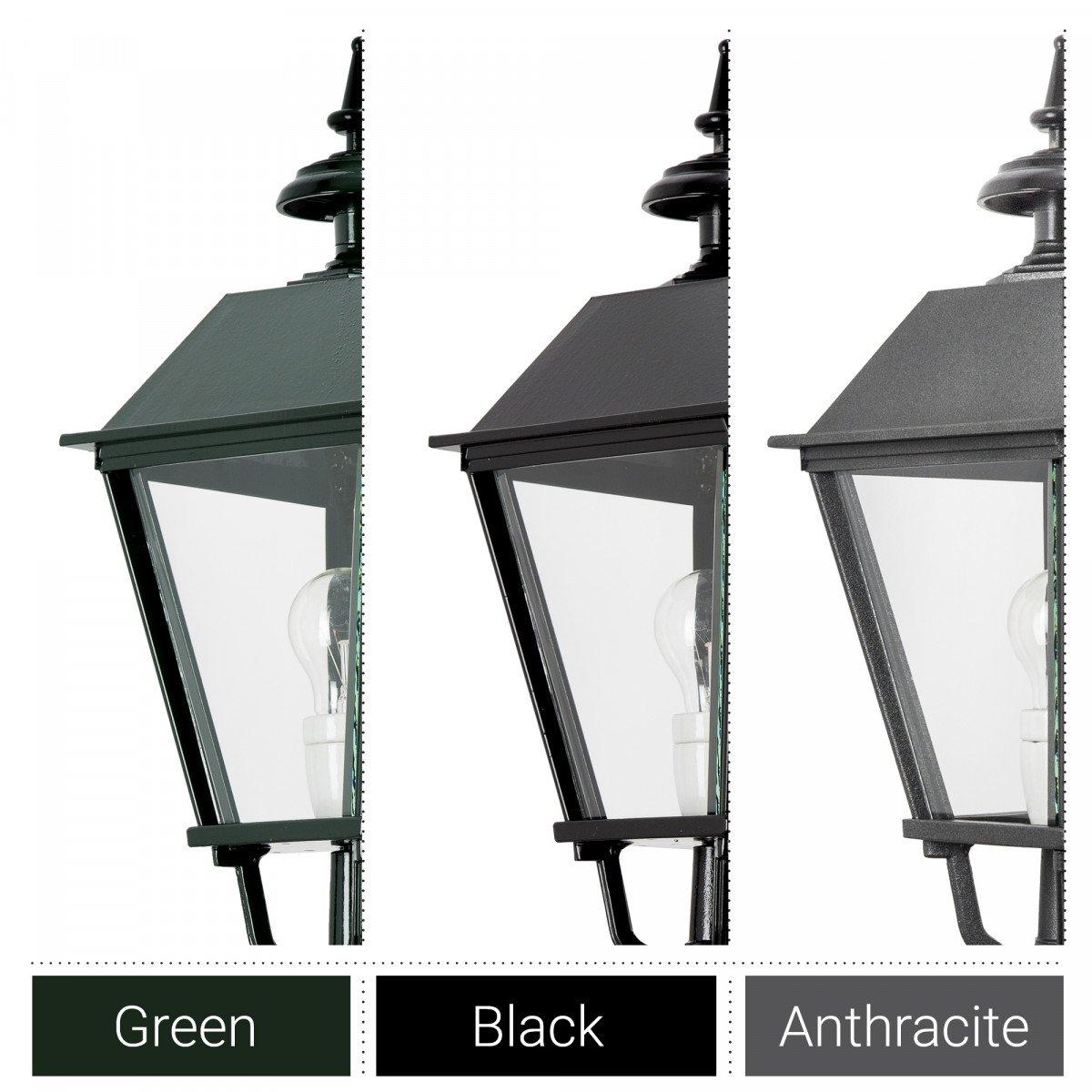 Klassieke vierkante buitenlamp Bonn