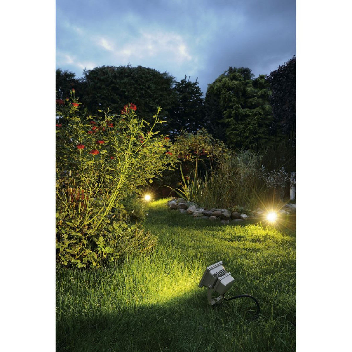 Led Outdoor Beam 10w Zilvergrijs 1xled 5700k