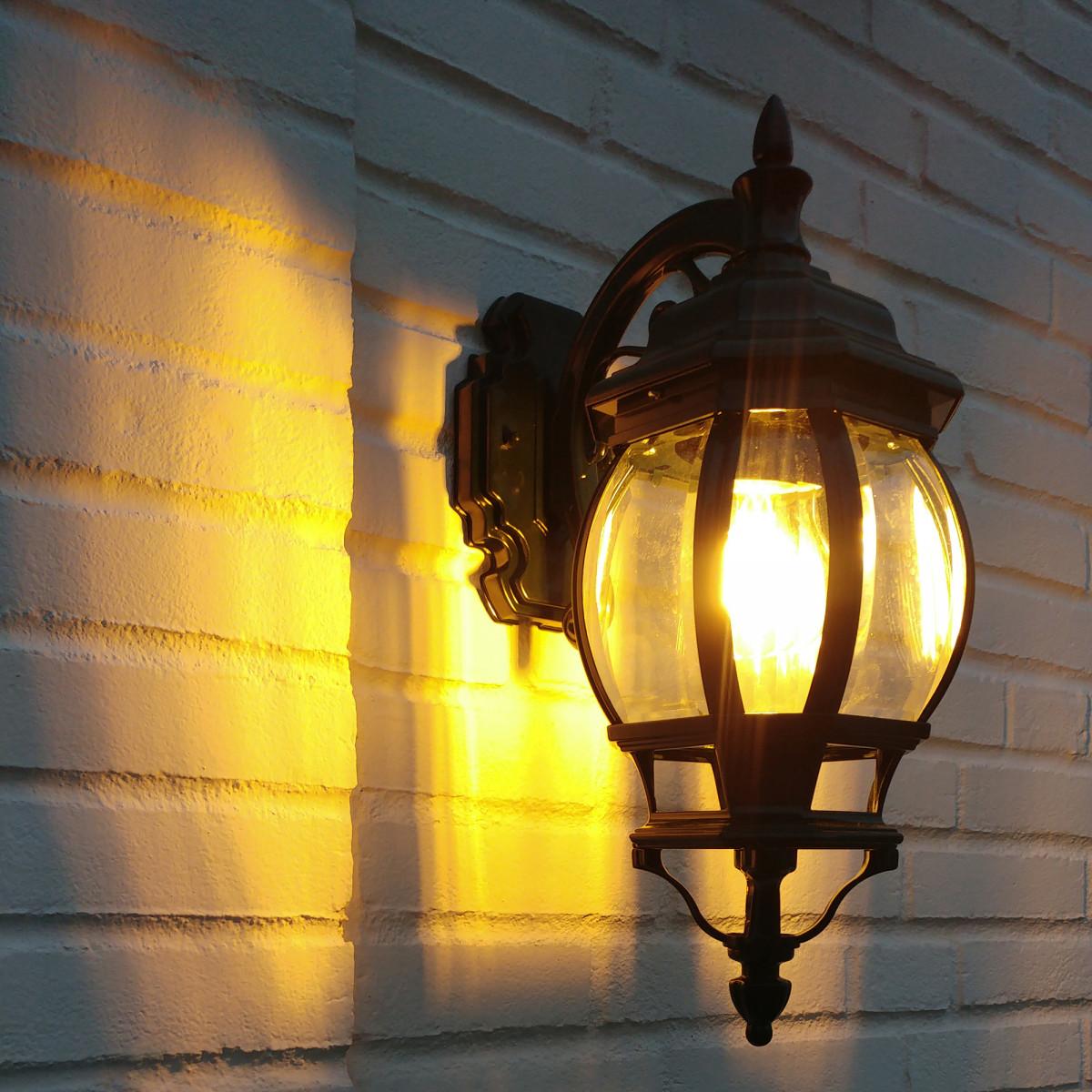 Buitenlamp Andrew hang Dag Nacht sensor LED Schemersensor