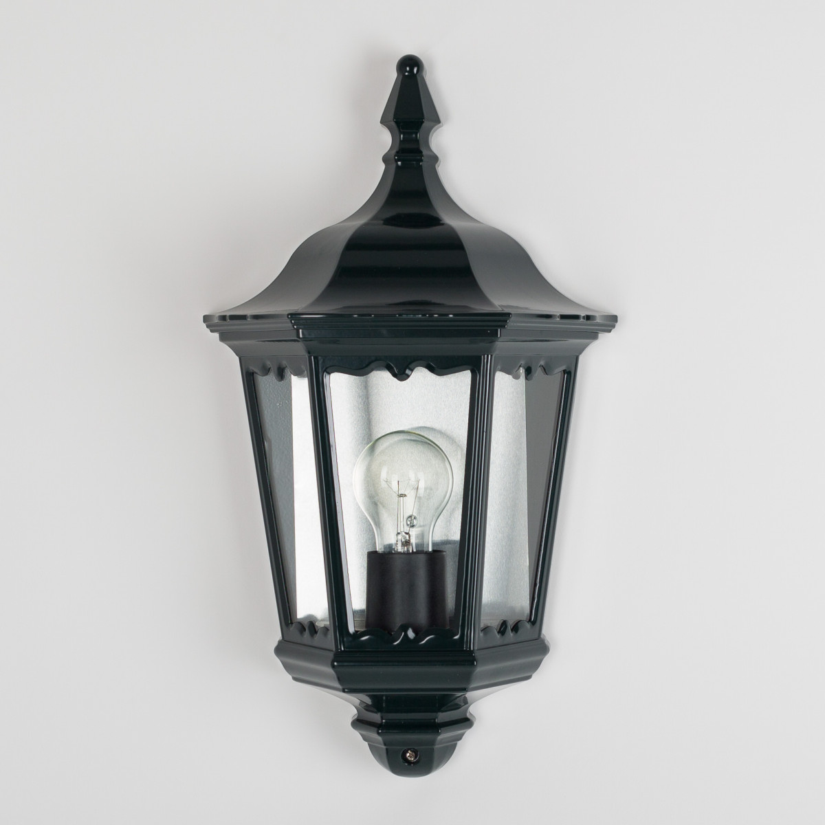 Buitenlamp Ancona plat Dag Nacht sensor LED Schemersensor